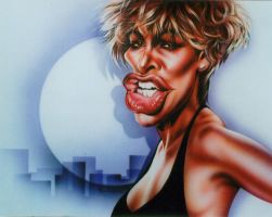 Tina Turner by JSaurer
