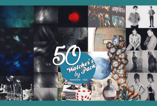 50 Watcher's Pack by moonstone--child
