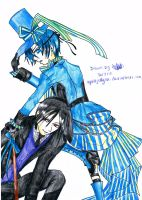 Ciel and Sebastian by AgentJelly101