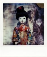 Japanese Doll with Six Wigs by futurowoman