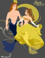 Belle and her Prince by miss-lollyx-33