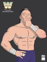 WWE Fallen Superstars: Crash Holly by EadgeArt