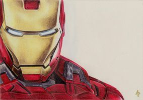 Iron Man by Alizee-P
