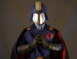 Sideshow Cobra Commander by maulsballs