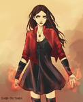 Scarlet Witch by Florbe