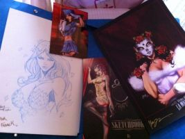 Sketchbook and free sketch by ANTHONY DUGENEST by neodrago
