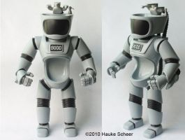 U.R.I.-NAL 9000 resin figure by hauke3000