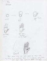 My Techique in Drawing Hands by FoxFever101