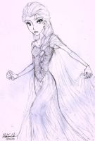 Snow Queen Elsa by civil-twilight