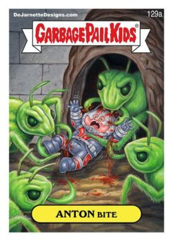 PAINTING TUTORIAL: Ant-Man Garbage Pail Kids! by DeJarnette