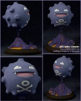 Commission : #109 Koffing by emilySculpts