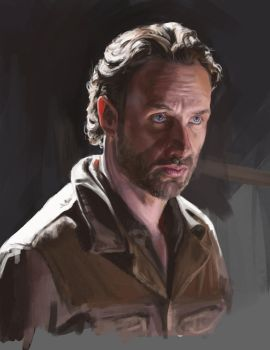 The Walking Dead - Rick Grimes by Dewheart85