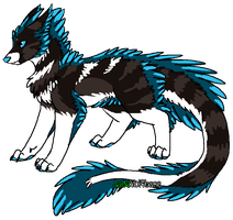Unnamed Feathertail by JadeWolfbane