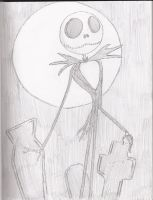 Jack Skellington by thereisnoend01