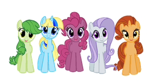 Re-color Pony adopts by FreeFlyingAngel