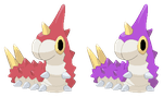 Wurmple Pixel Art by Brookreed