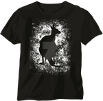 Black Kangaroo T-shirt by Shadowisper