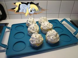My Little Pony Cupcakes Derpy Hooves by Kleeschweif