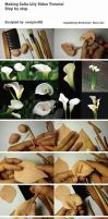 Making Calla Lily Video Tutorial by sculptor101
