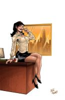 DC2 Lois Lane by Steve Howard by StevenHoward