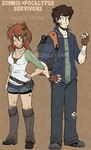 Kaite and Chase Official Reference by pistachioZombie