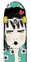 Skateboard Design by slashmy-soul
