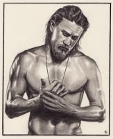 Charlie Hunnam by Alizee-P