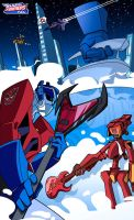 Haruko Goes to Cybertron by Dustoff-EX