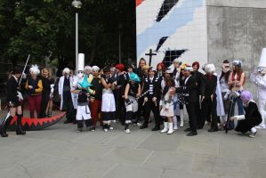 Soul Eater Group - Fanime 2012 by AtomicBrownie