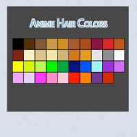 Anime Hair Colors by Linkdb