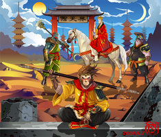 Journey to the West by 324300easy