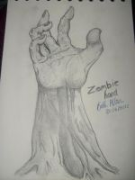 Zombie Hand by Bethasaur