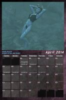 Star Wars Swimsuit Calendar 2014 - April by Crimsonight