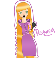 Rapunzel by DreamerGirlMe