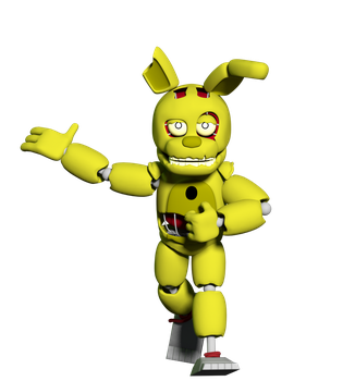 Springaling SpringTrap Reveal by AustinTheBear
