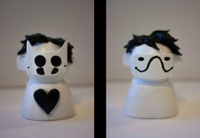 Zacharie sculpture by ROTT0N