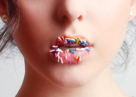 With my candy lips, I'll kiss by engravedwithMusic