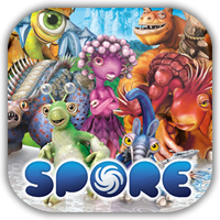 Spore Game Icon by Wolfangraul