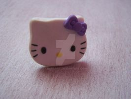 A Hello Kitty ring by Barbarit