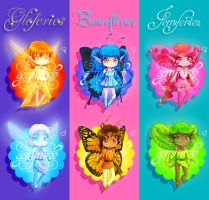 Fairy Adoptables (OPEN) by Geminine-nyan