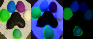 Glow in the dark objects by DreamVisionCreations