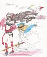 Epsilon and Emerald like this by Hinataiscute45