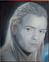 Legolas Oilpainting by Valyanna8361
