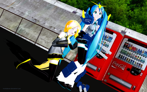 MMD Wardrobe Malfunction by Trackdancer