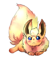 Super floof by LittleWhiteWolfAngel