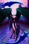 The black wing angle by LuXame