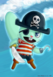 Russel - the pirate by Annausagi