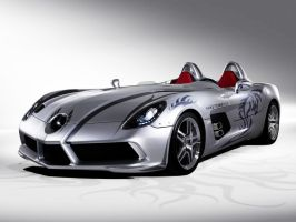 Mercedes BenzSLR Stirling Moss by nikster08