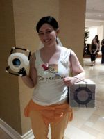 Chell x Wheatley: Just Married! (2) by RaltheCommentator
