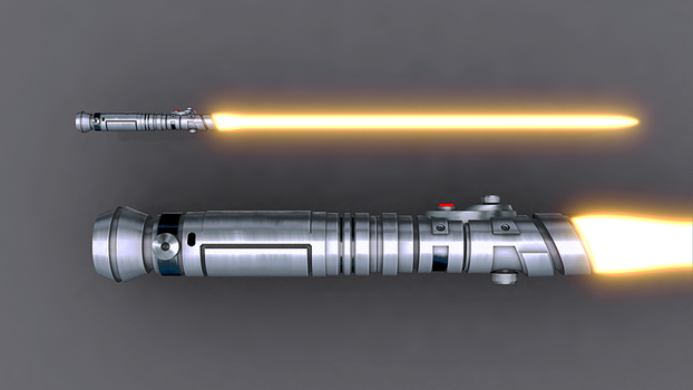 Sentinel Lightsaber 1 by broodofevil